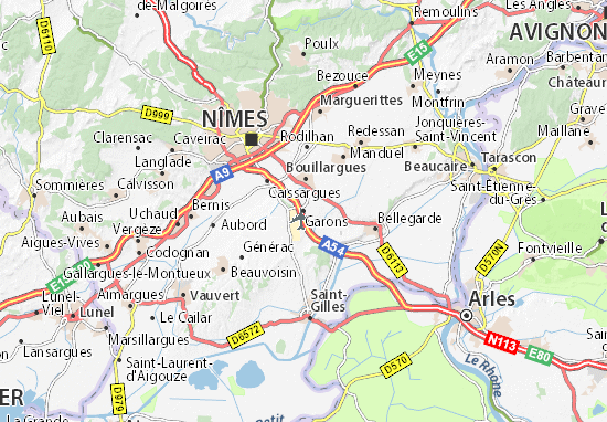 Mappe-Piantine Garons