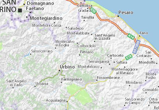 Mappe-Piantine Petriano