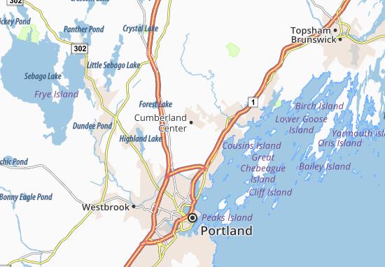 Cumberland Center Map