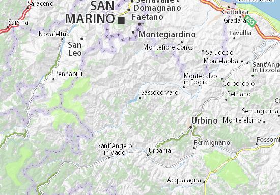 Mappe-Piantine Sassocorvaro