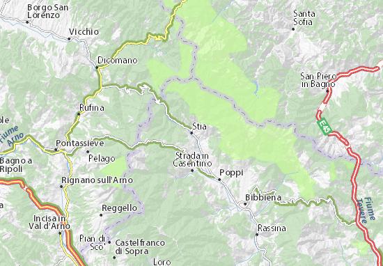 Mappe-Piantine Stia