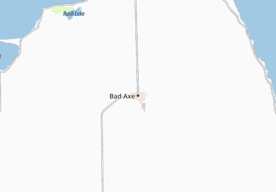 Bad Axe Map