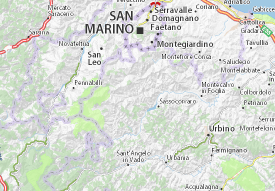 Mappe-Piantine Macerata Feltria