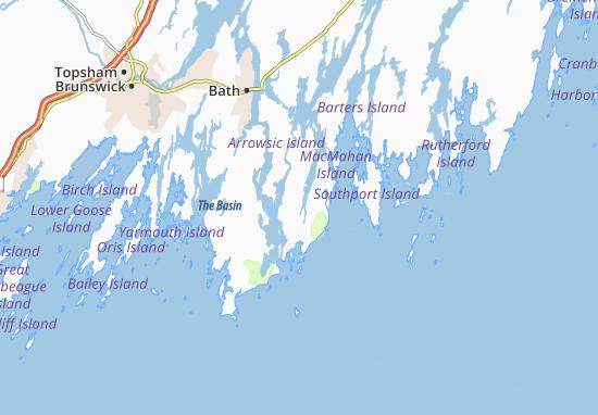 Carte-Plan Georgetown