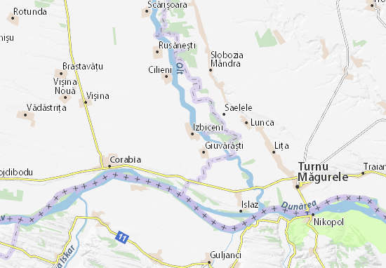Mappe-Piantine Izbiceni