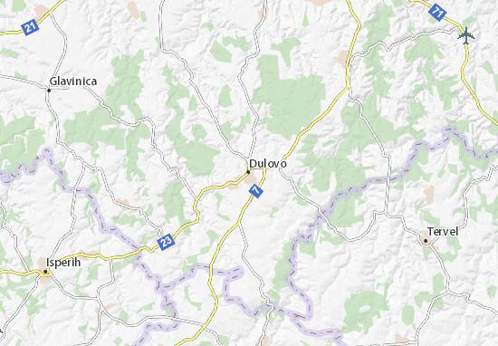 All ViaMichelin for Dulovo. Map of Dulovo   Michelin Dulovo map   ViaMichelin