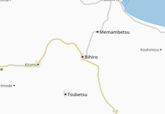 Mapa Plano Bihiro