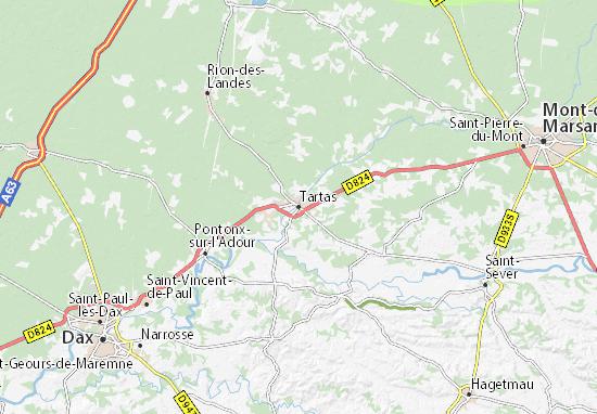 Tartas Map