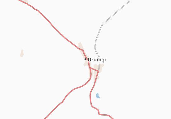 Carte-Plan Urumqi