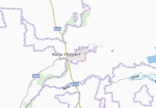 Mapas-Planos Kizl'ar