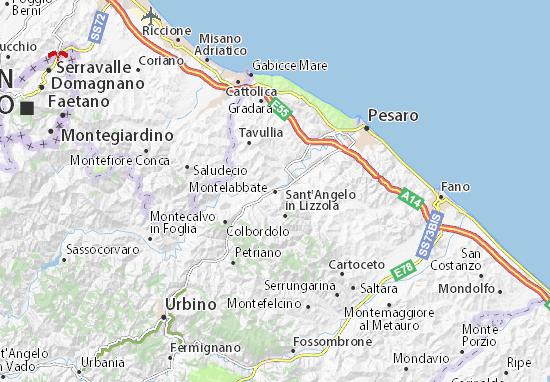 Mappe-Piantine Montelabbate