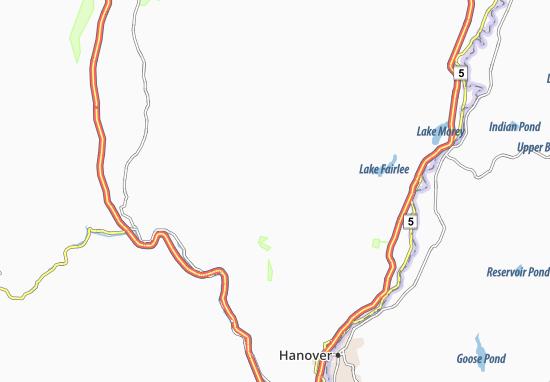 Strafford Map