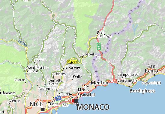 Sospel Map