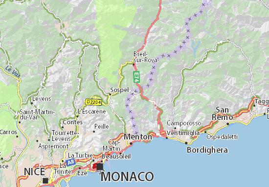 Olivetta Map