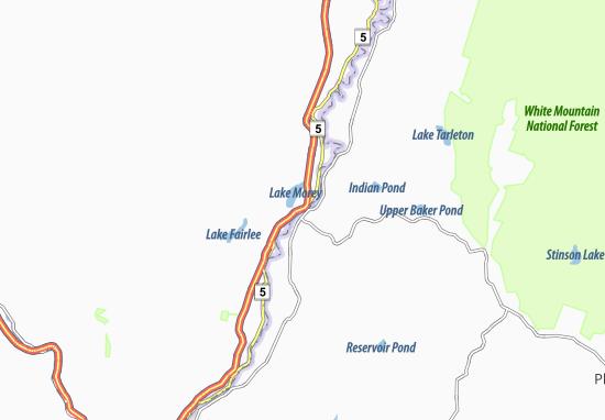 Mapas-Planos Fairlee