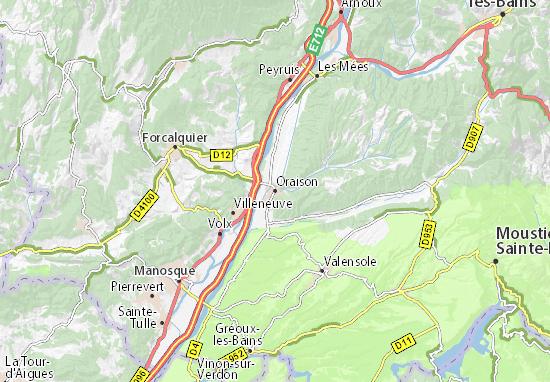 Mappe-Piantine Oraison