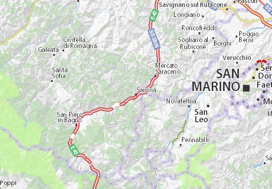 Mapas-Planos Sarsina