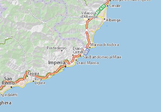 Mappe-Piantine San Bartolomeo al Mare