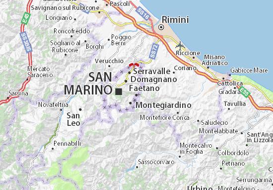 Mappe-Piantine Faetano