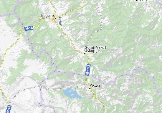 Mapas-Planos Gornji Vakuf