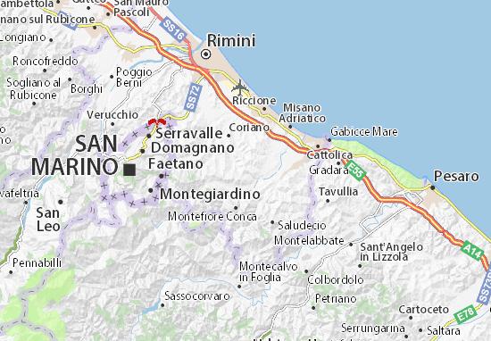 Mappe-Piantine San Clemente