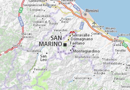 Mapas-Planos San Marino