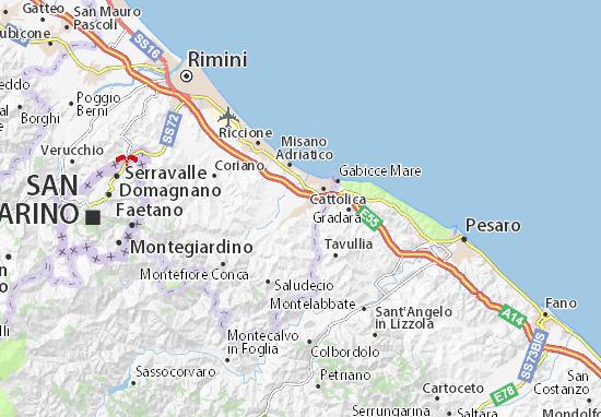Mappe-Piantine San Giovanni in Marignano