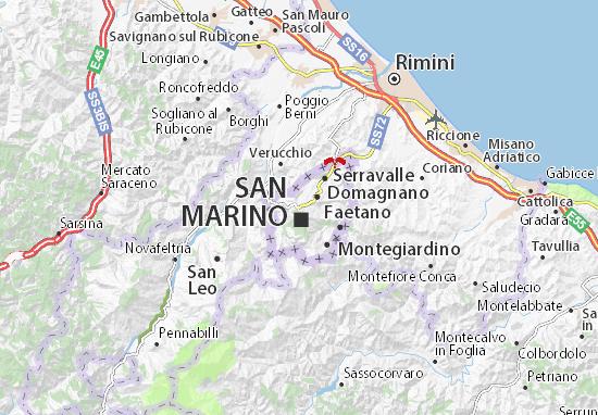 Mappe-Piantine Borgo Maggiore