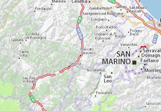 Mappe-Piantine Mercato Saraceno