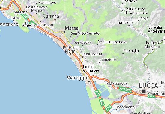 Mappe-Piantine Pietrasanta