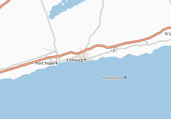 Cobourg Map
