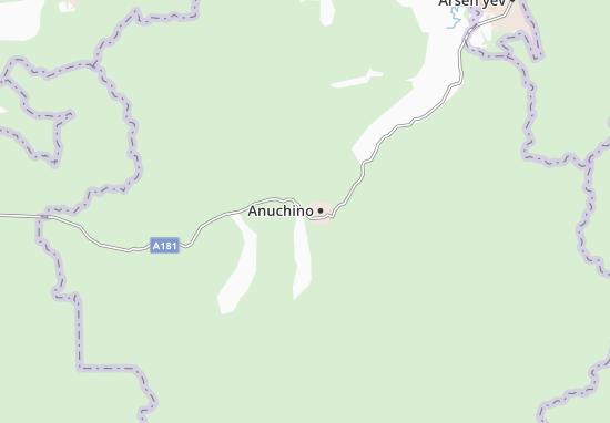 Carte-Plan Anuchino
