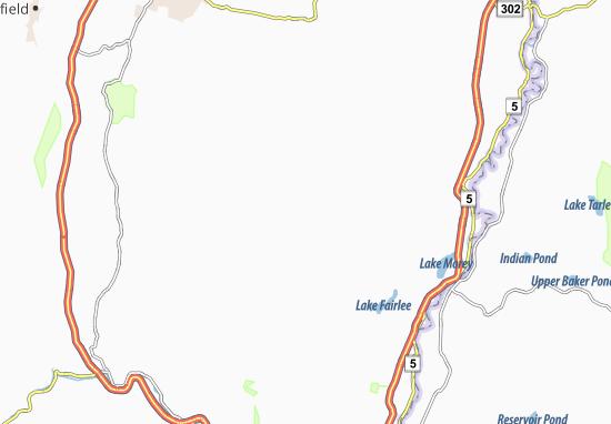 Vershire Map