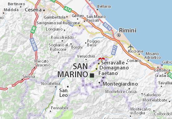 Mappe-Piantine Verucchio