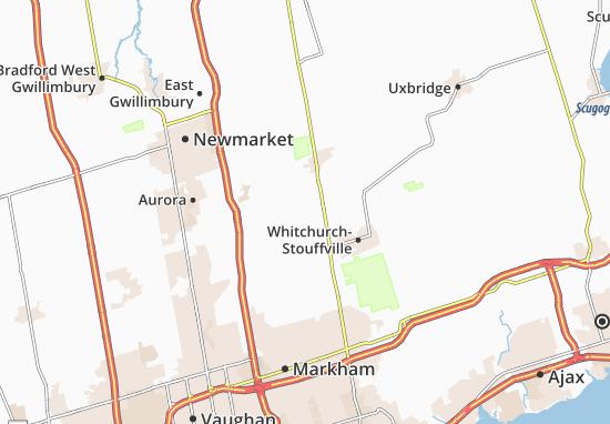 Carte-Plan Whitchurch-Stouffville