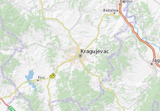 Kragujevac Map