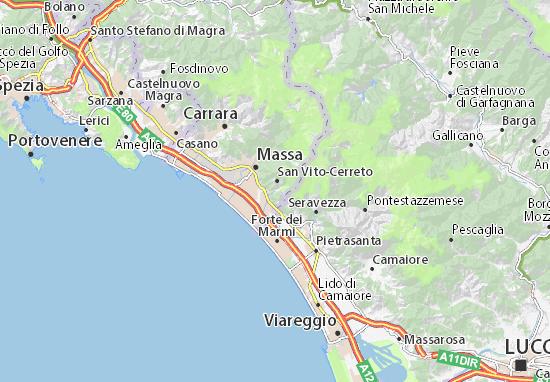 Mappe-Piantine Montignoso