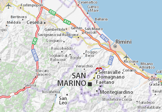 Mapas-Planos Poggio Berni