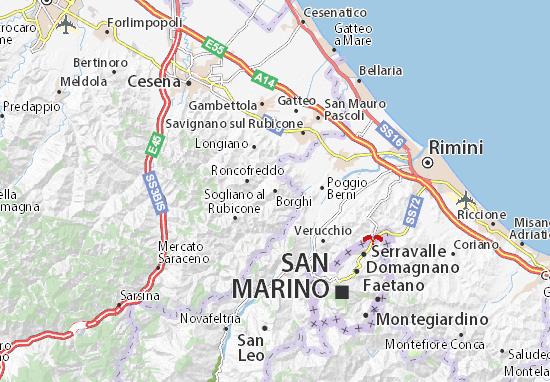Mappe-Piantine Borghi