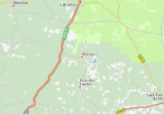 Mappe-Piantine Morcenx