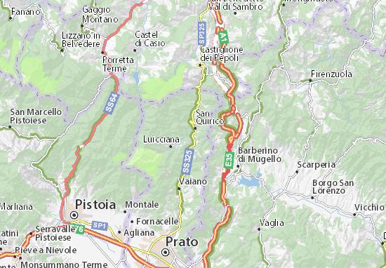 Mappe-Piantine Vernio
