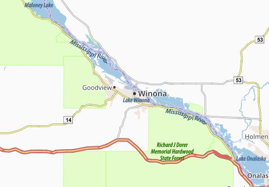 Winona Map