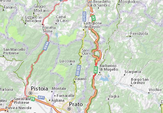Mapas-Planos San Quirico