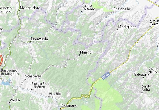 Mappe-Piantine Marradi