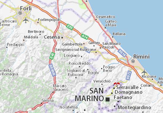 Mappe-Piantine Longiano