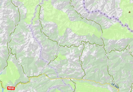 Carte-Plan Saint-Brés