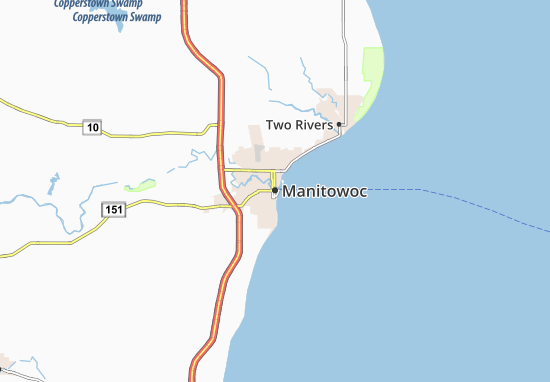 Manitowoc Map