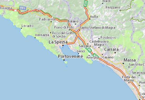 Lerici Italy Map.Muggiano Map Detailed Maps For The City Of Muggiano Viamichelin