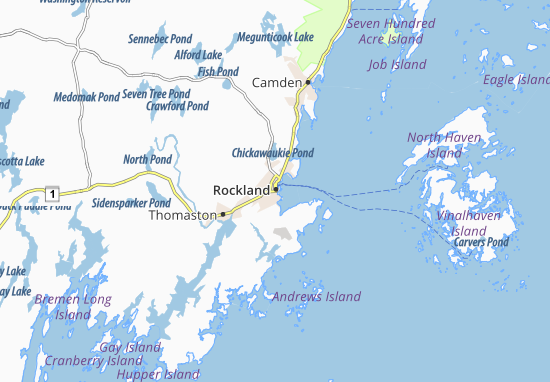Rockland Map