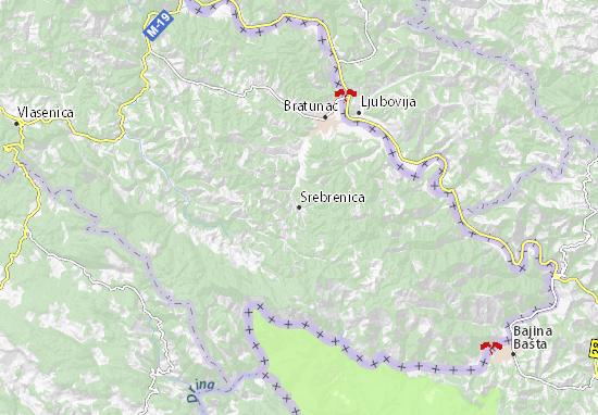 Mappe-Piantine Srebrenica